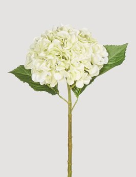 Raz Imports Real Touch Light Green Hydrangea Stem