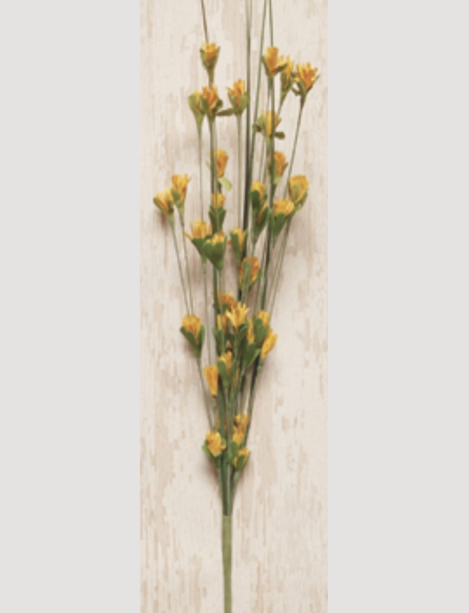 Wild Blossom Pick Yellow - 16""