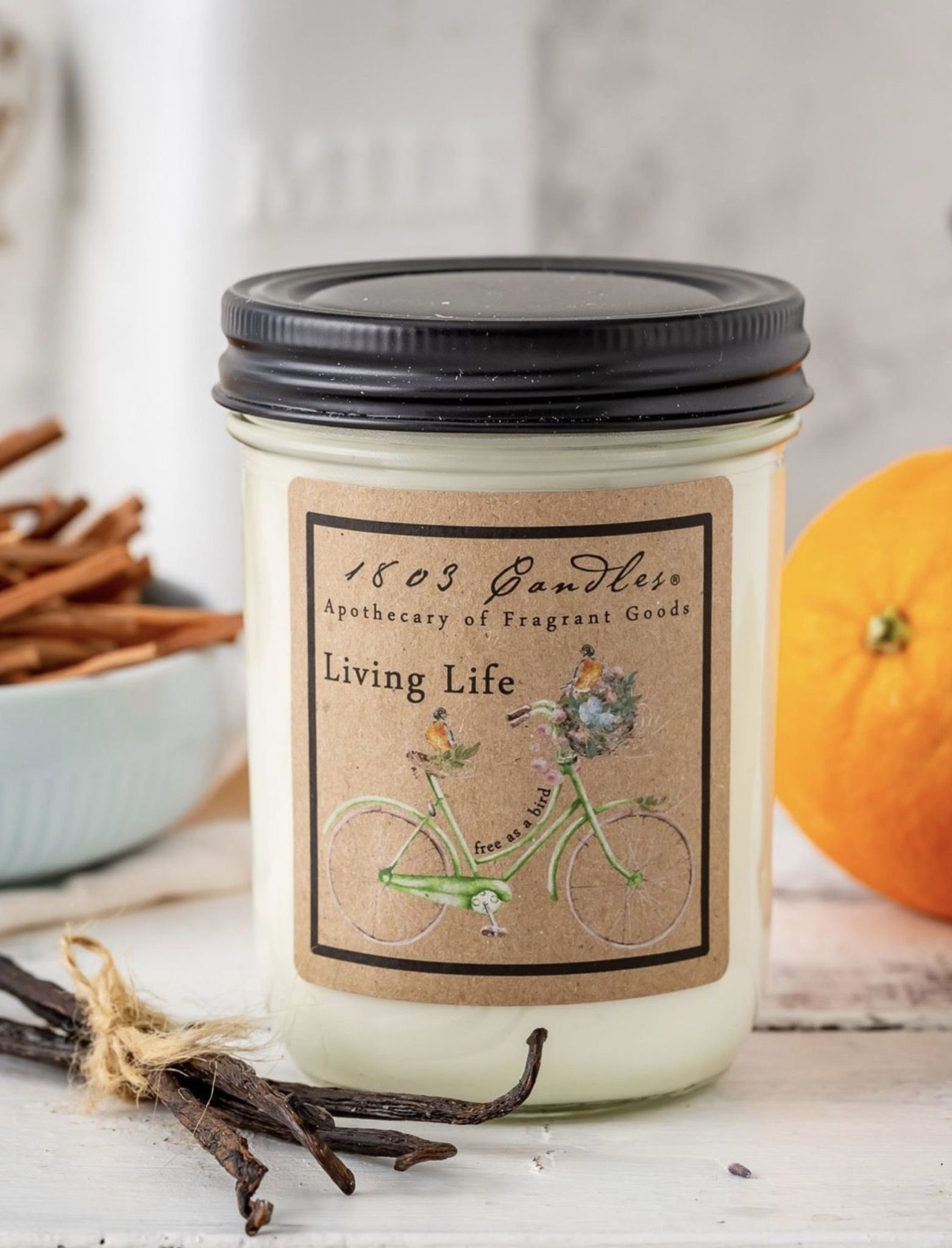 1803 Candles 1803 Living Life Candle