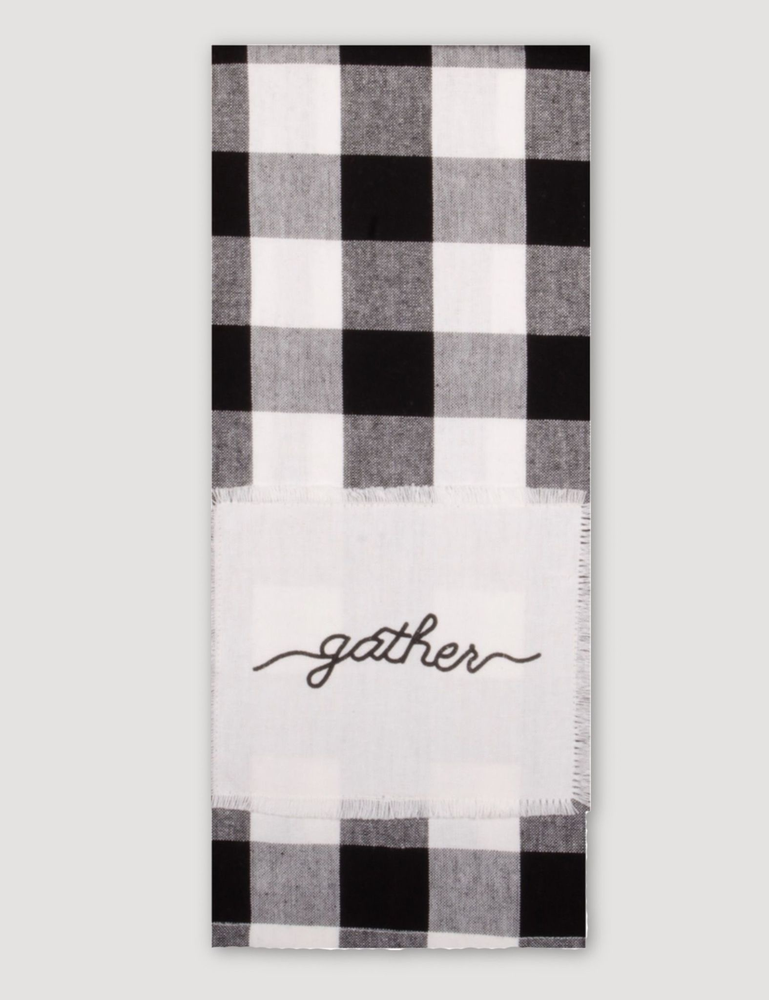 Home Collections By Raghu Buffalo Check Gather Towel