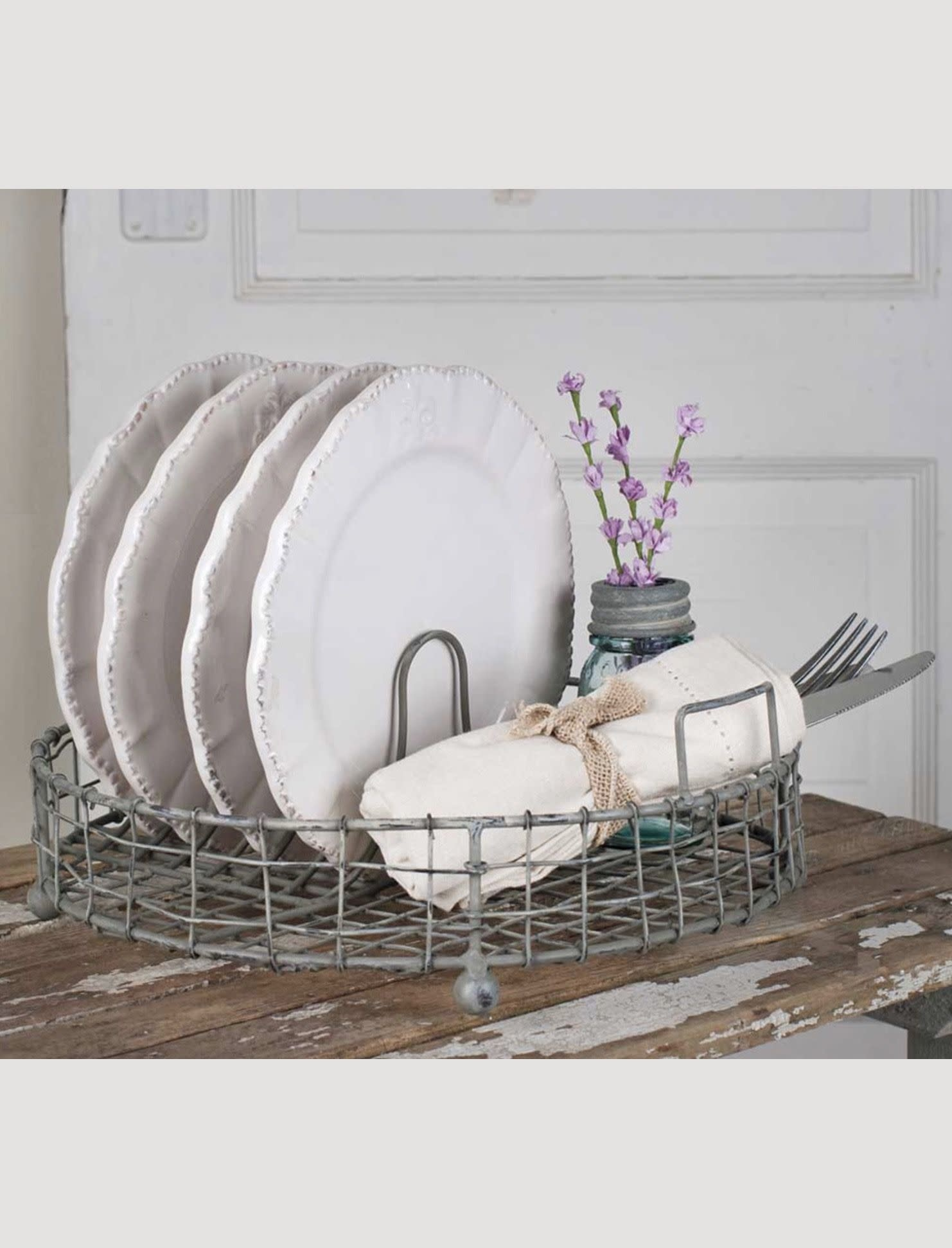 CTW Home Collection Vintage Dish Rack