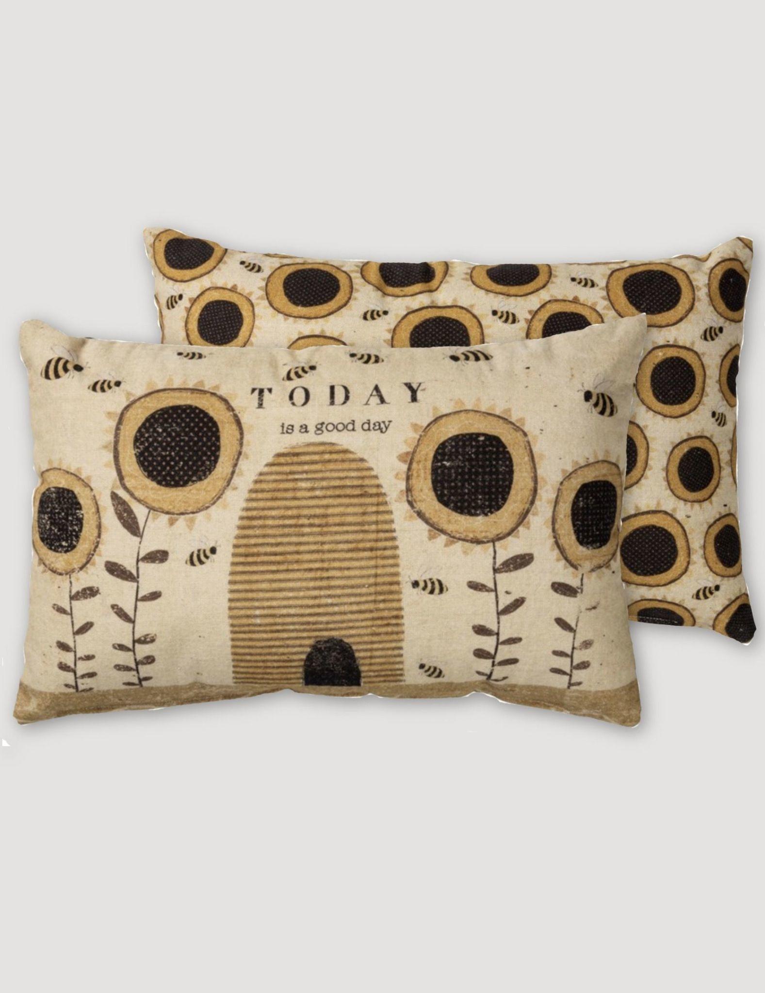 Nana's Farmhouse Today Is A Good Day Pillow