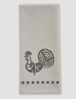 Park Designs Folk Rooster Decorative Dishtowel