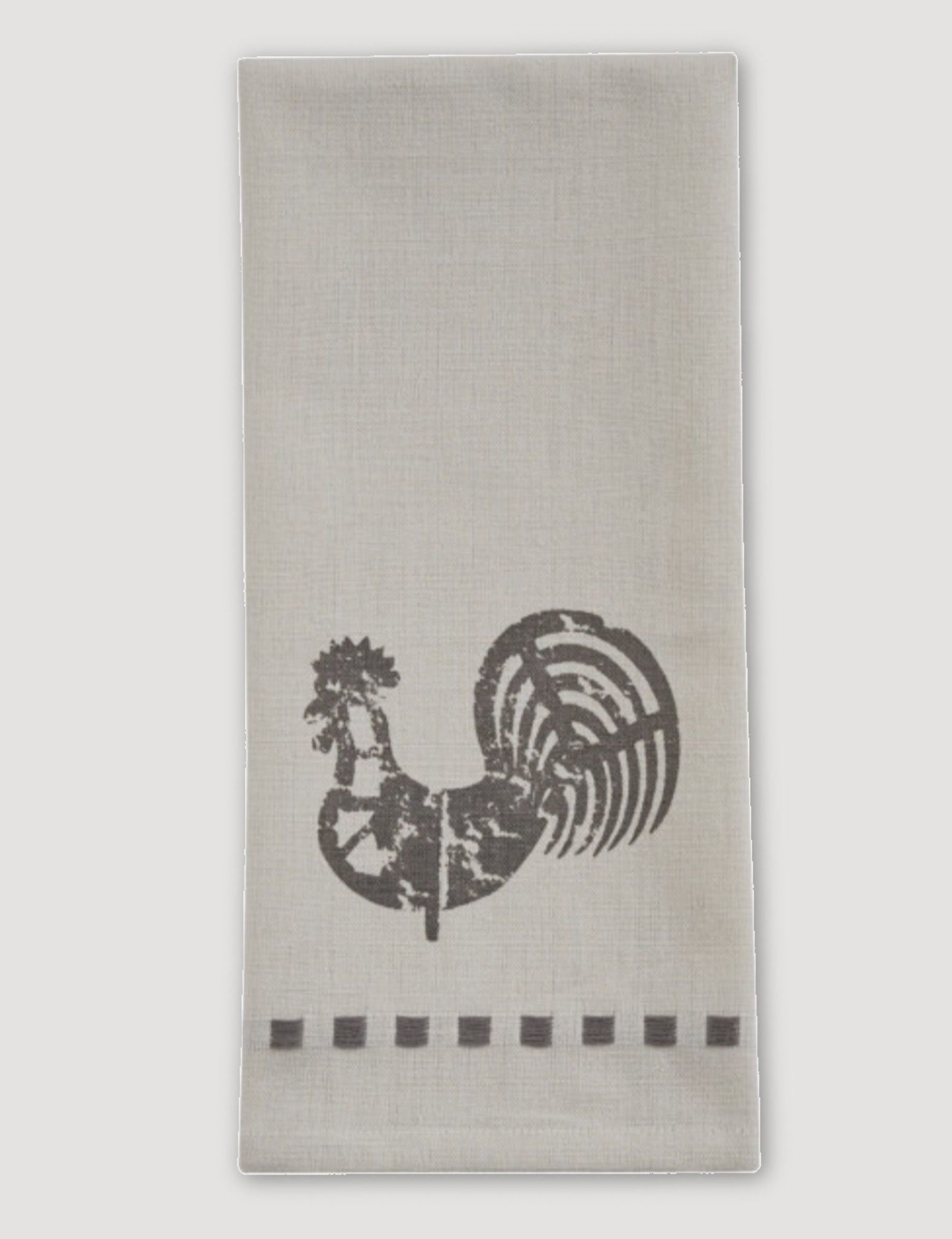 Park Designs Folk Rooster Decorative Dishtowel