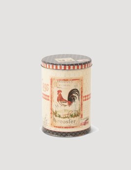 K & K Interiors Rooster Tin - Small