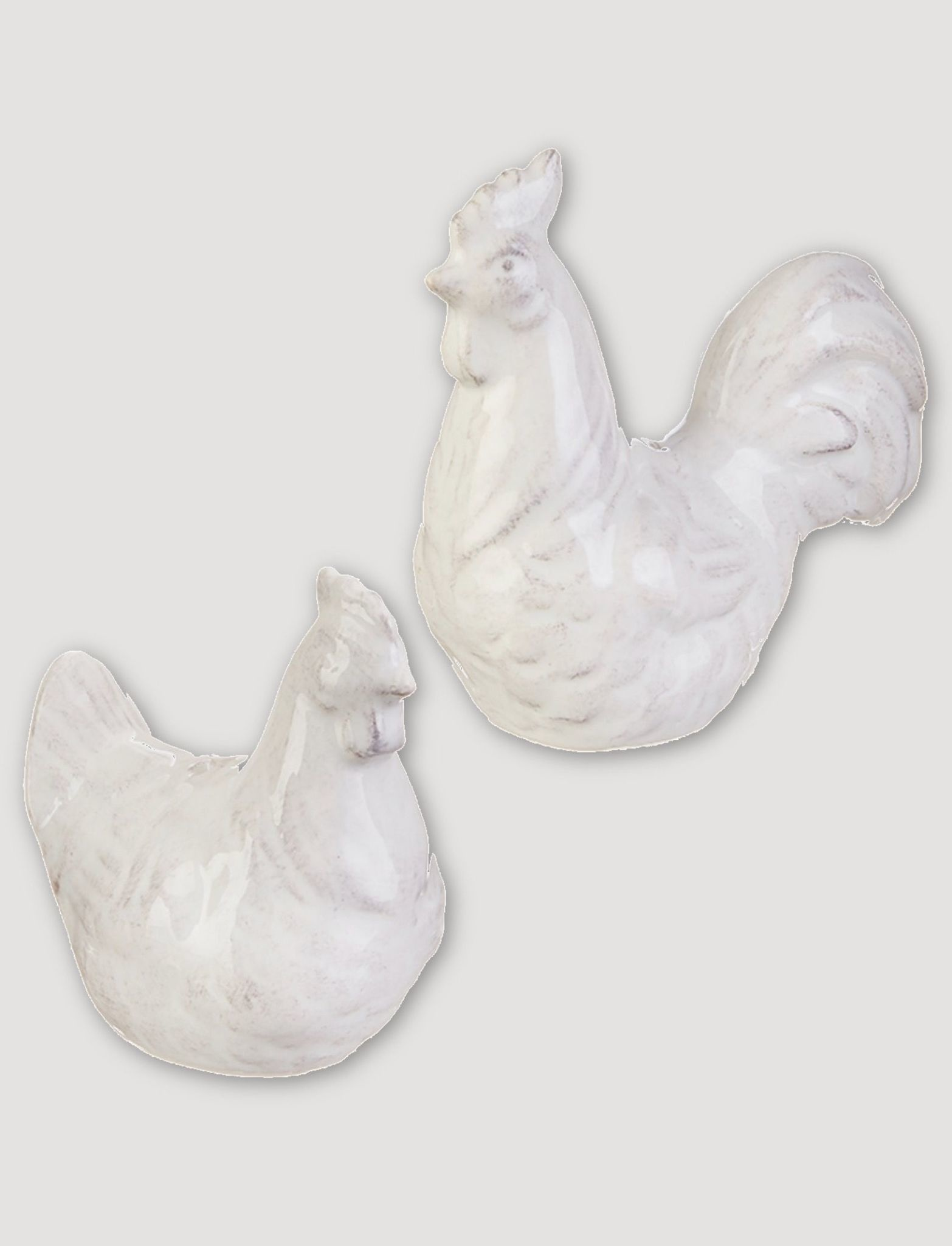 Raz Imports Rooster & Hen Salt and Pepper Shakers