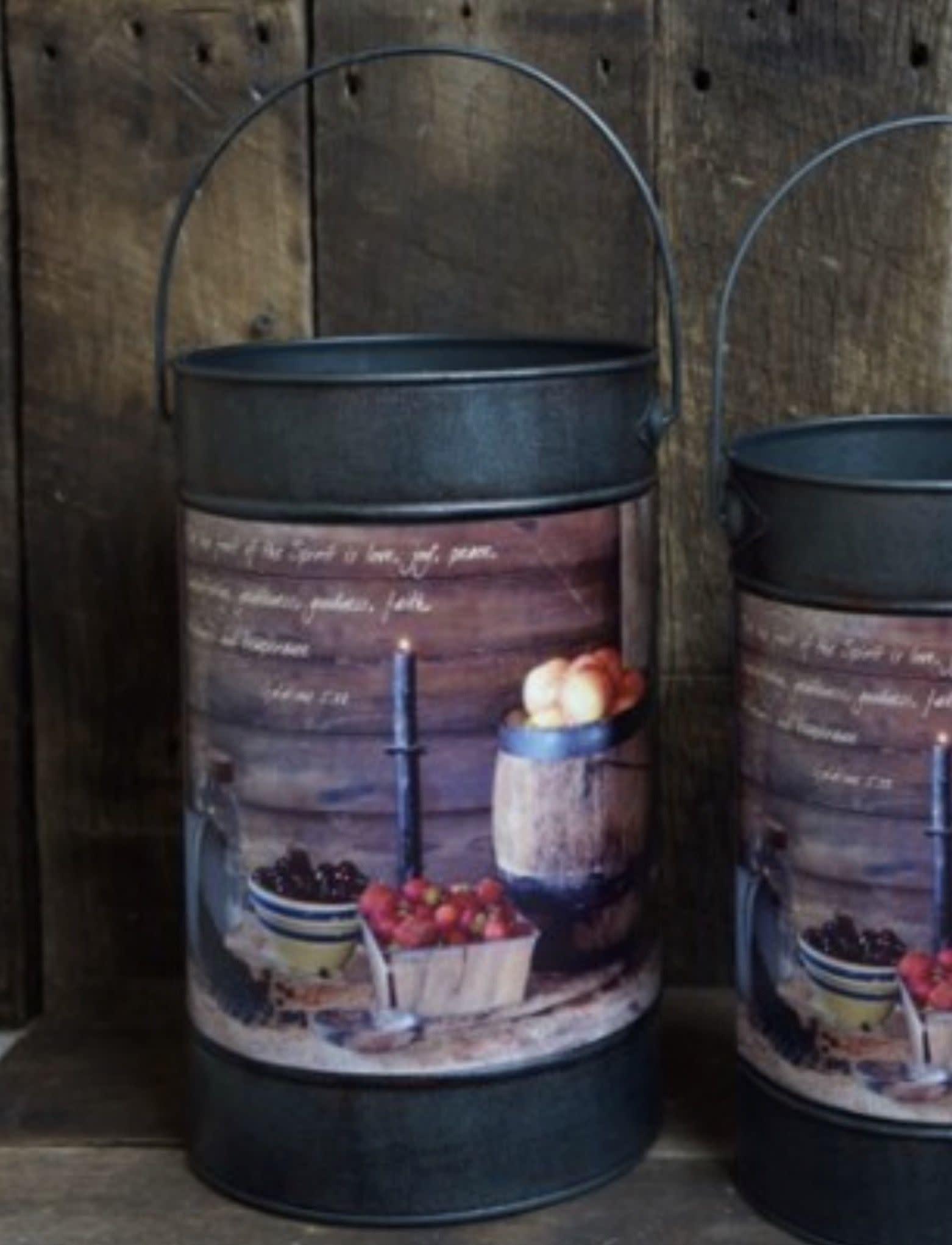 Nana's Farmhouse Fruit Of The Spirit Bucket - Large
