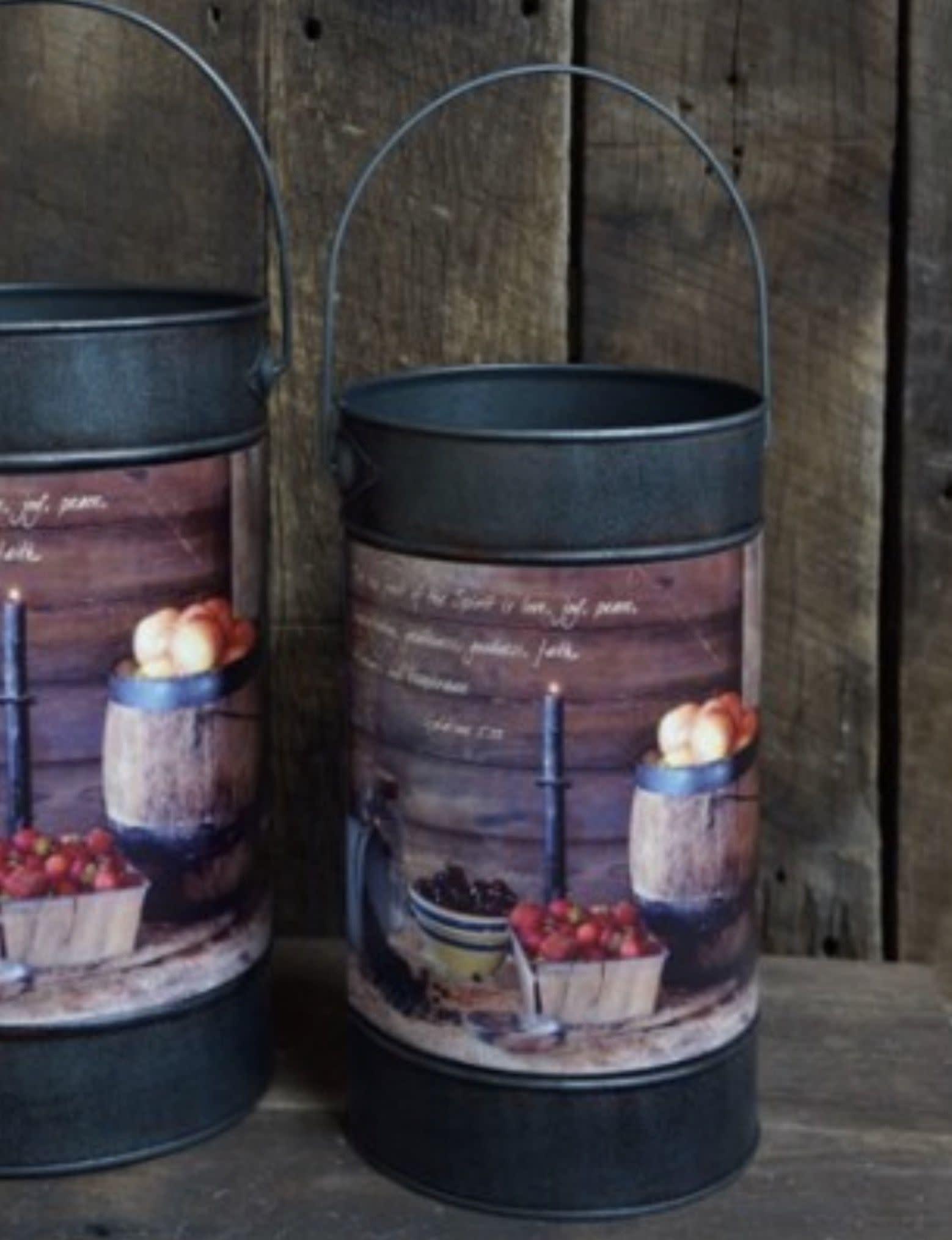 Nana's Farmhouse Fruit of the Spirit Bucket -Small