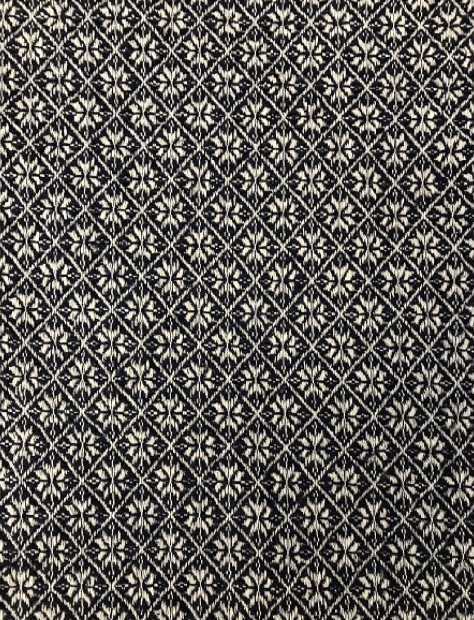 "Nana's Farmhouse Cherry Blossom Black/Tan Pillow - 16"""