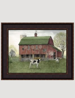 Bonnie Fisher The Calf Canvas Print by Bonnie Fisher