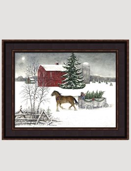 Bonnie Fisher Christmas Is Coming Canvas Print by Bonnie Fisher