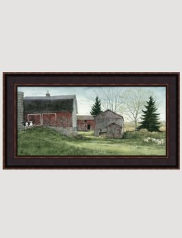 Bonnie Fisher Big Barn Canvas Print by Bonnie Fisher