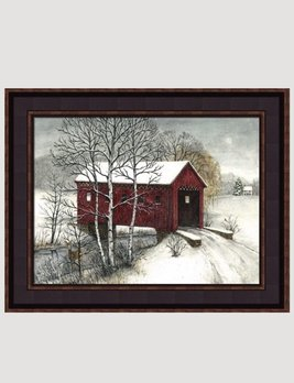 Covered Bridge Print by Bonnie Fisher