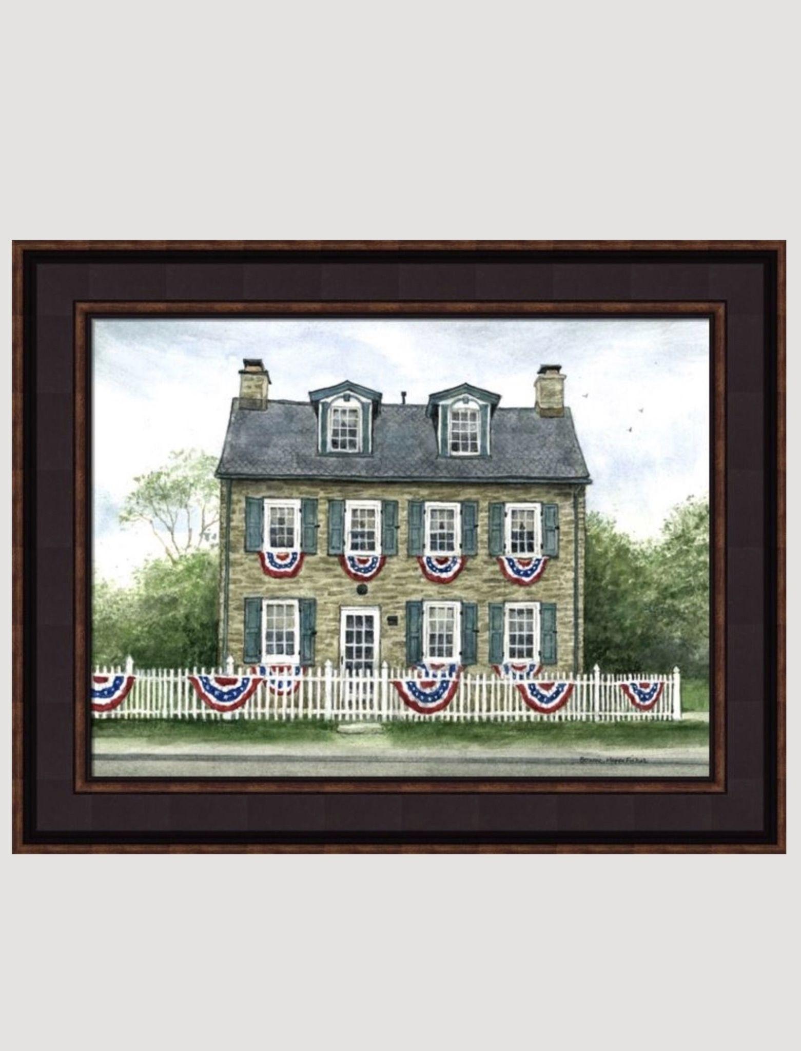 Bonnie Fisher Philadelphia House by Bonnie Fisher