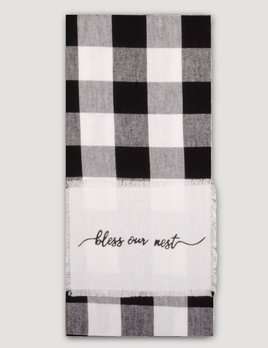 Home Collections By Raghu Buffalo Check Bless Our Nest Towel