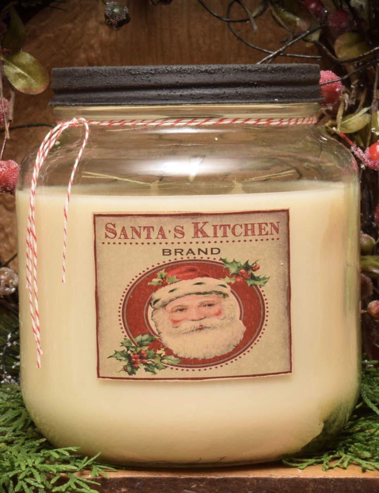 Herbal Star Candles Cinnamon Spice Cookies Soy Jar Candle - 64oz