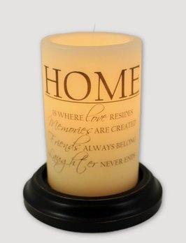 C R Designs Home Candle Sleeve Antique Vanilla