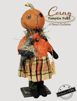 Rags A Muffin Corny The Pumpkin Doll