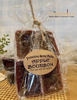 The Candlesmiths Apple Bourbon Primitive Spice Melts