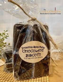 The Candlesmiths Chocolate Biscotti Primitive Spice Melts