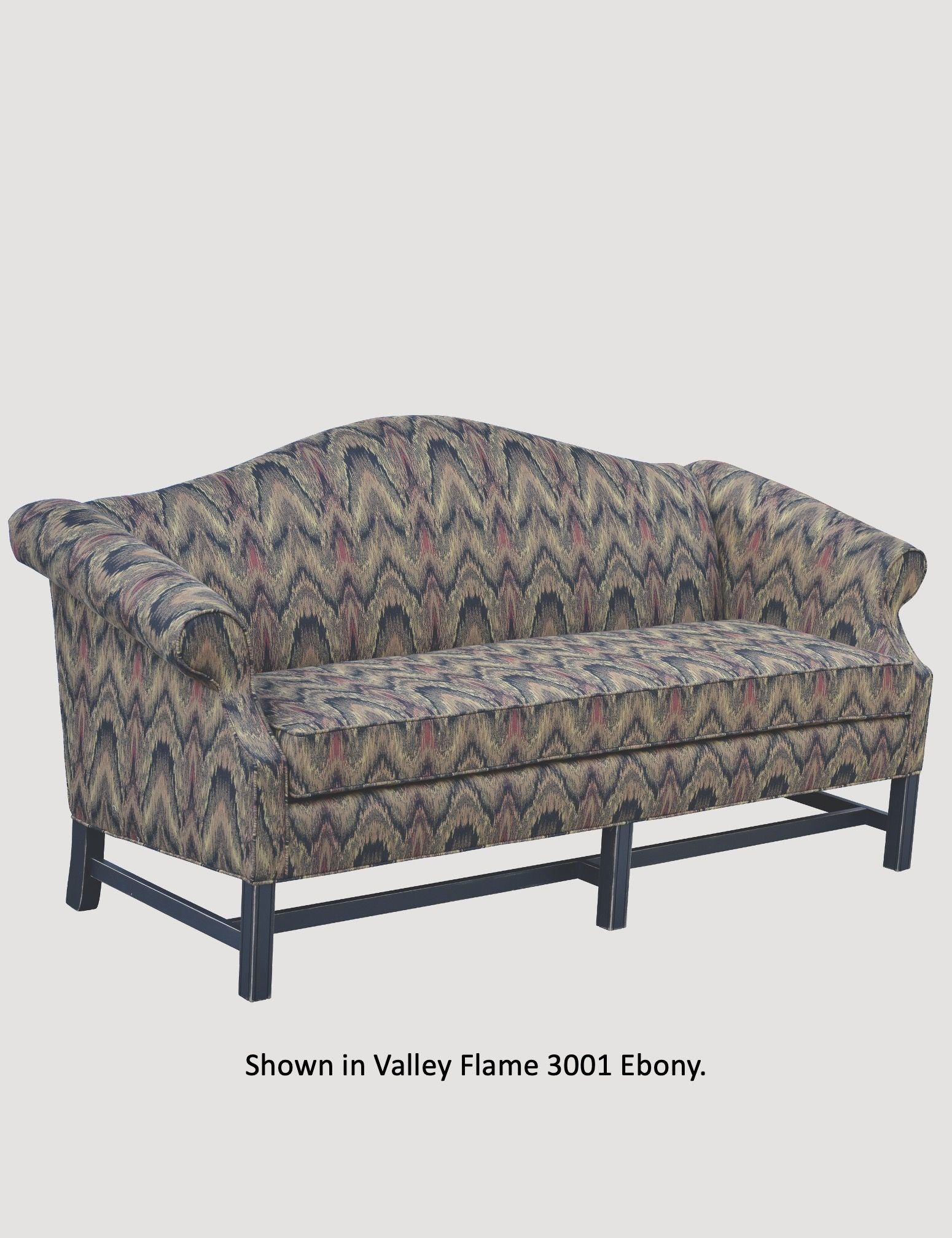"""Town & Country Furnishings Country Chippendale Sofa - 77""""L"""