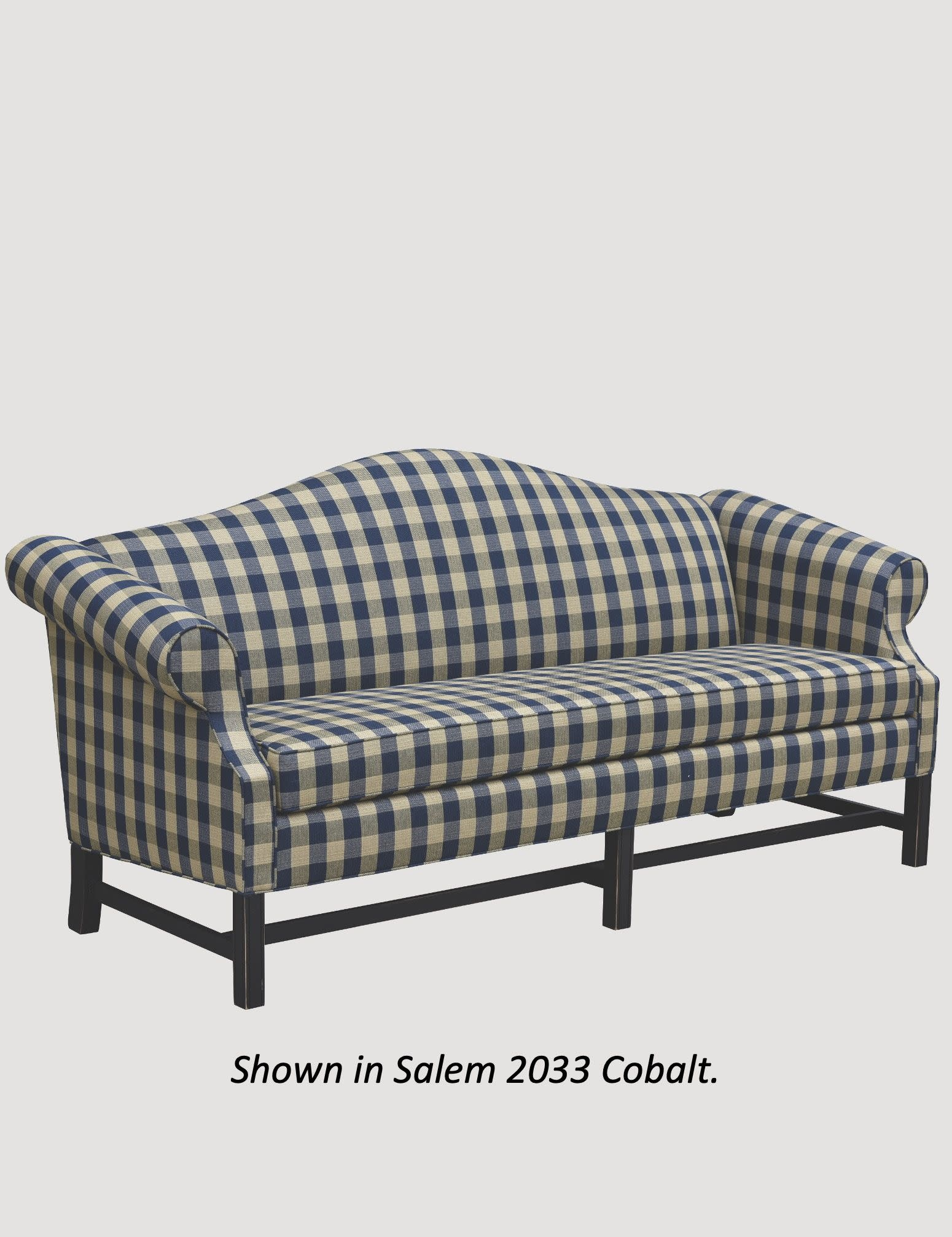 """Town & Country Furnishings Country Chippendale Sofa - 83"""""""