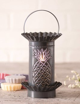 Irvin's Tinware Pineapple Mini Wax Warmer In Country Tin