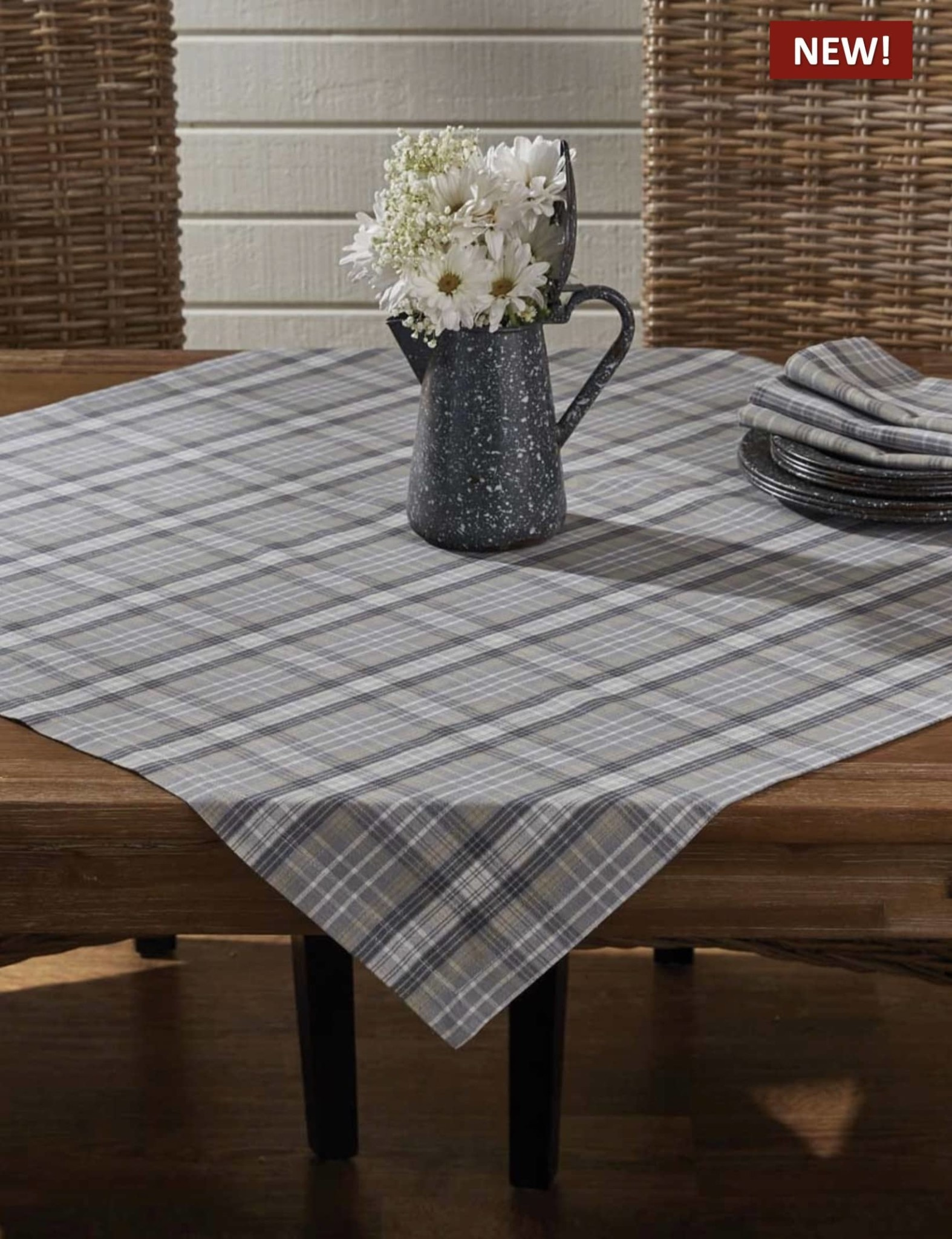 "Park Designs Hartwick Table Topper - 36"" x 36"""