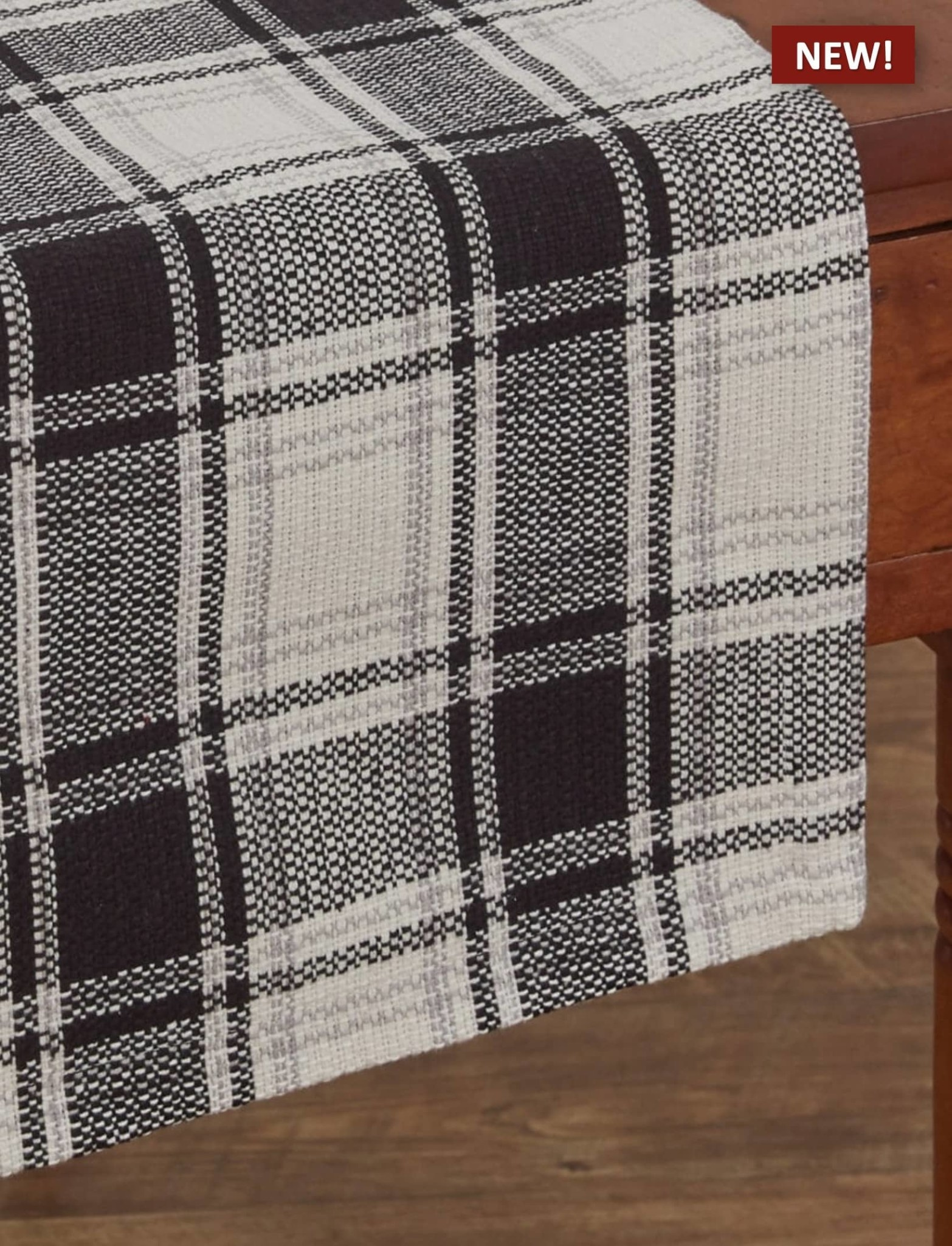 "Park Designs Crossroads Table Runner - 36"" L"
