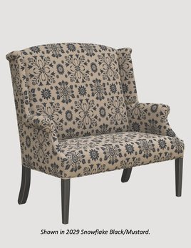 """Town & Country Furnishings Sarah Reaver Settle - 47"""""""