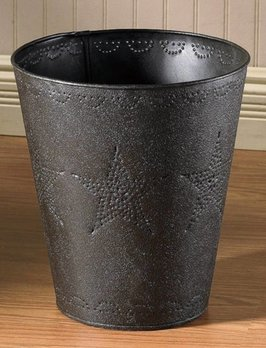 Park Designs Star Punched Waste Basket