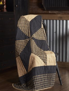 VHC Brands Dakota Star Quilted Throw
