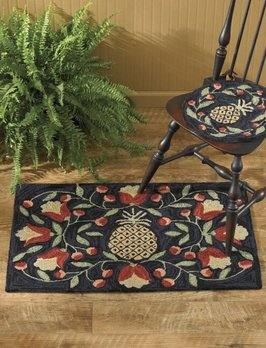 Park Designs Pineapple Hook Rug