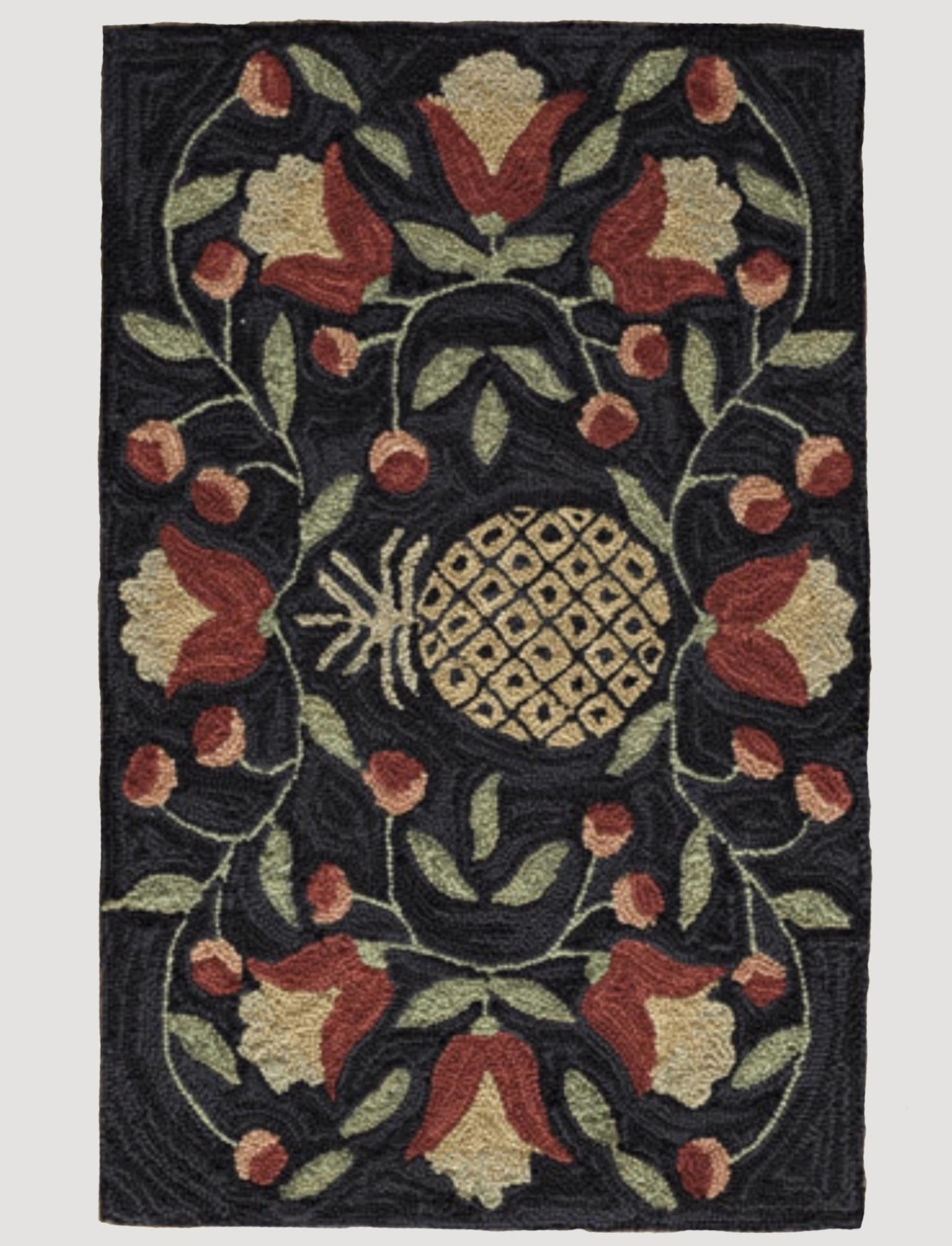 "Park Designs Pineapple Hook Rug  - 24"" x 36"""