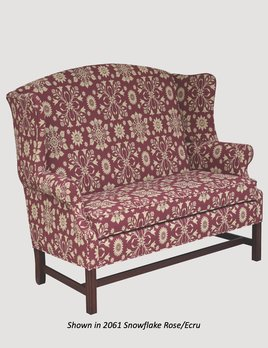 """Town & Country Furnishings Stony Fork Settle - 60"""""""