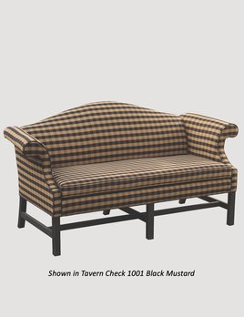 """Town & Country Furnishings Camelback Formal Sofa - 72"""" L"""