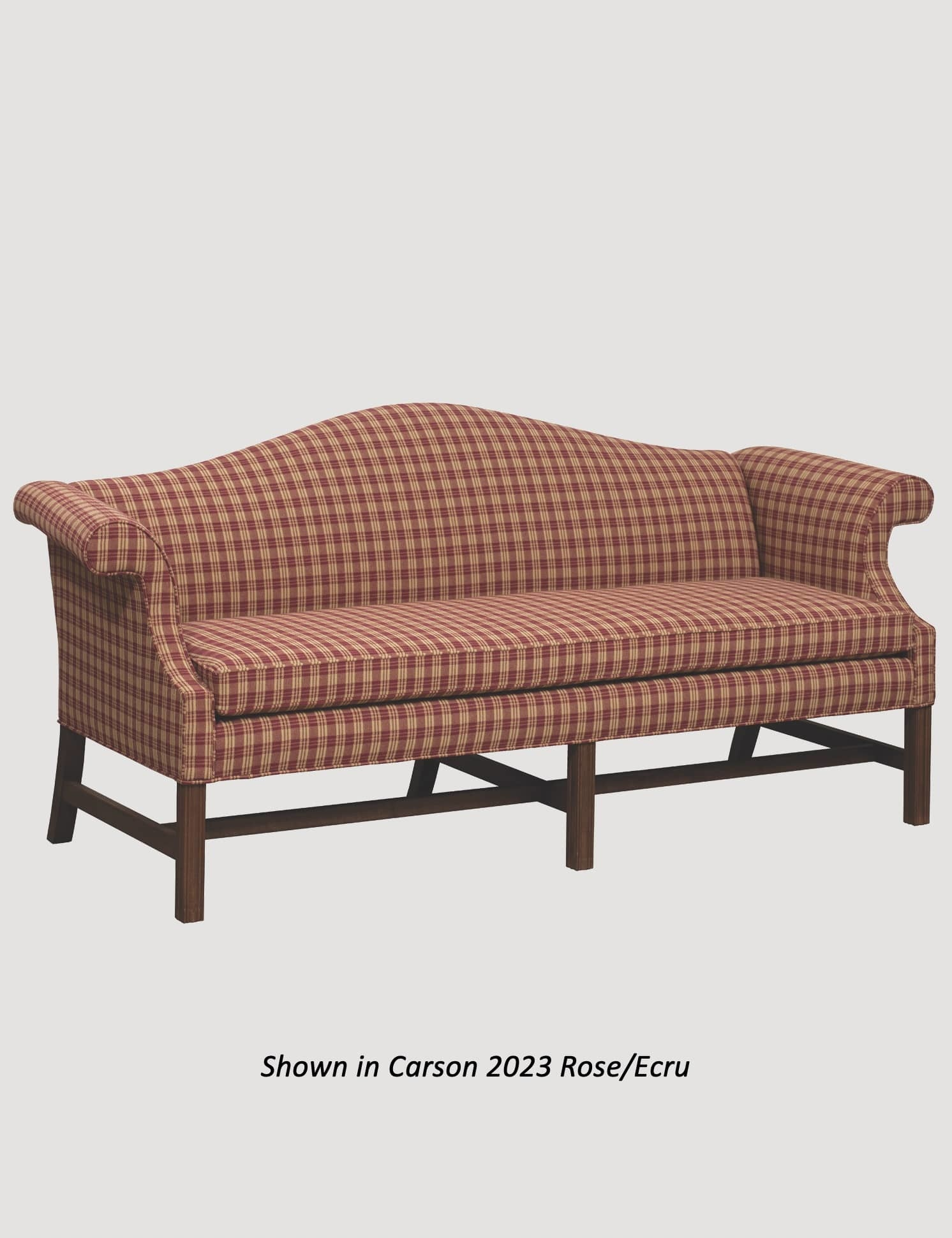 Town & Country Furnishings Camelback Formal Sofa - 83""