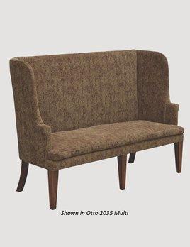 "Town & Country Furnishings Barrel Sofa - 65"""