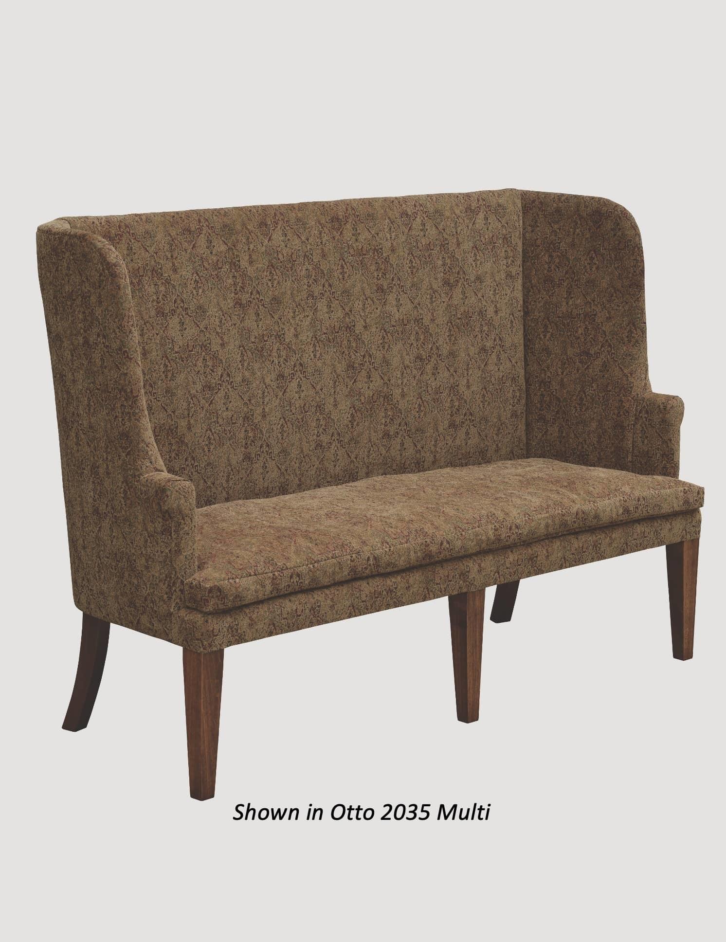 Town & Country Furnishings Barrel Sofa