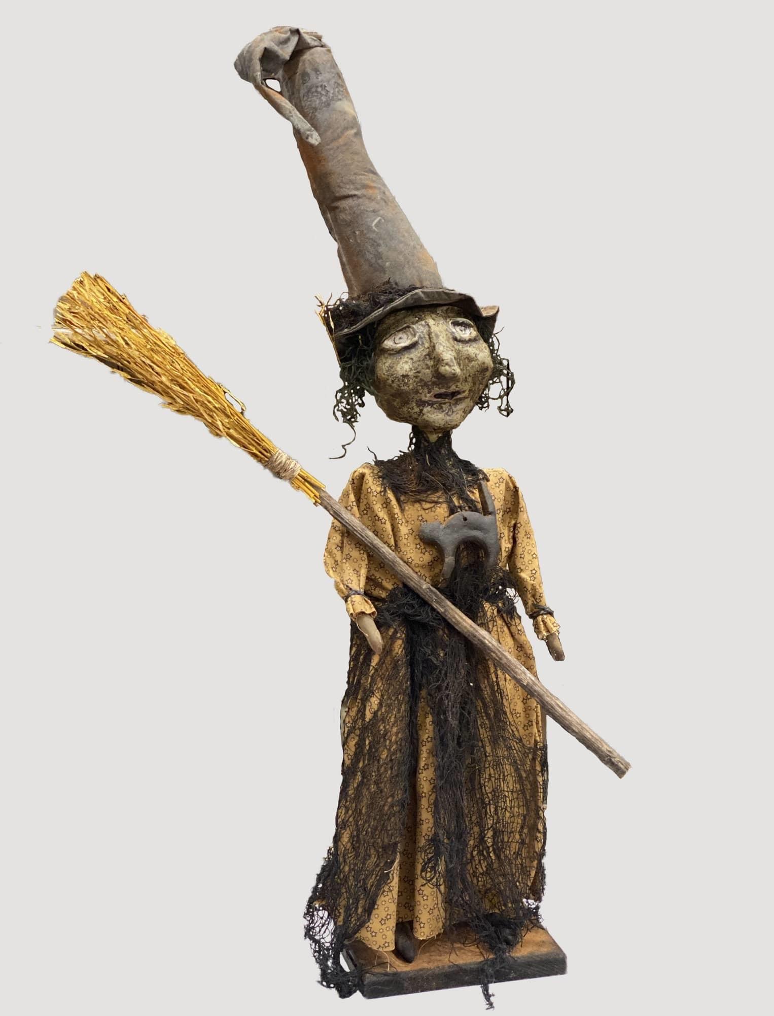 Nana's Farmhouse Primitive Witch