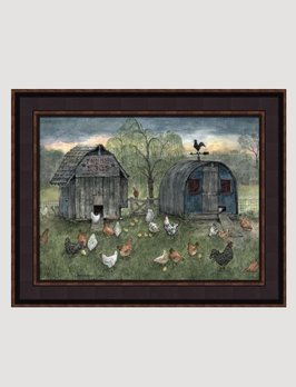 Bonnie Fisher Chicken Shed by Bonnie Fisher