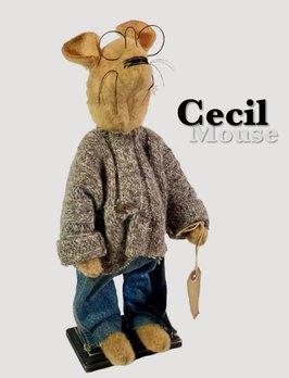 Nana's Farmhouse Cecil The Primitive Mouse