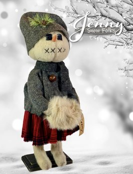 Nana's Farmhouse Jenny Snow Girl