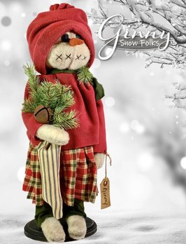 Nana's Farmhouse Ginny Snow Girl