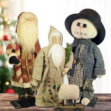 Santas to Snowmen