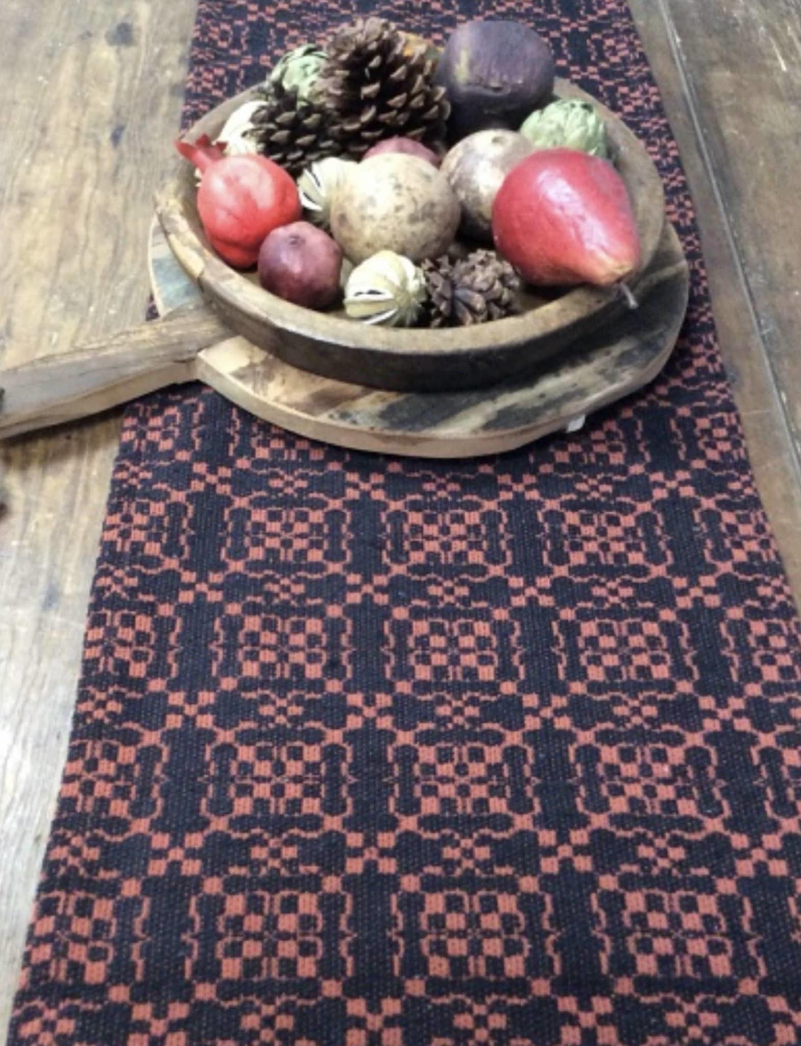 Nana's Farmhouse Oakford Glen Pumpkin Black Table Square  - 34