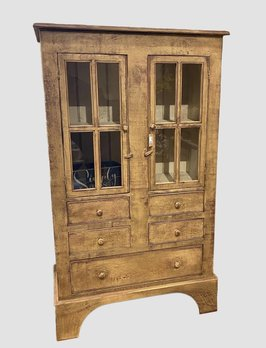 Nana's Farmhouse Shoemaker Cabinet