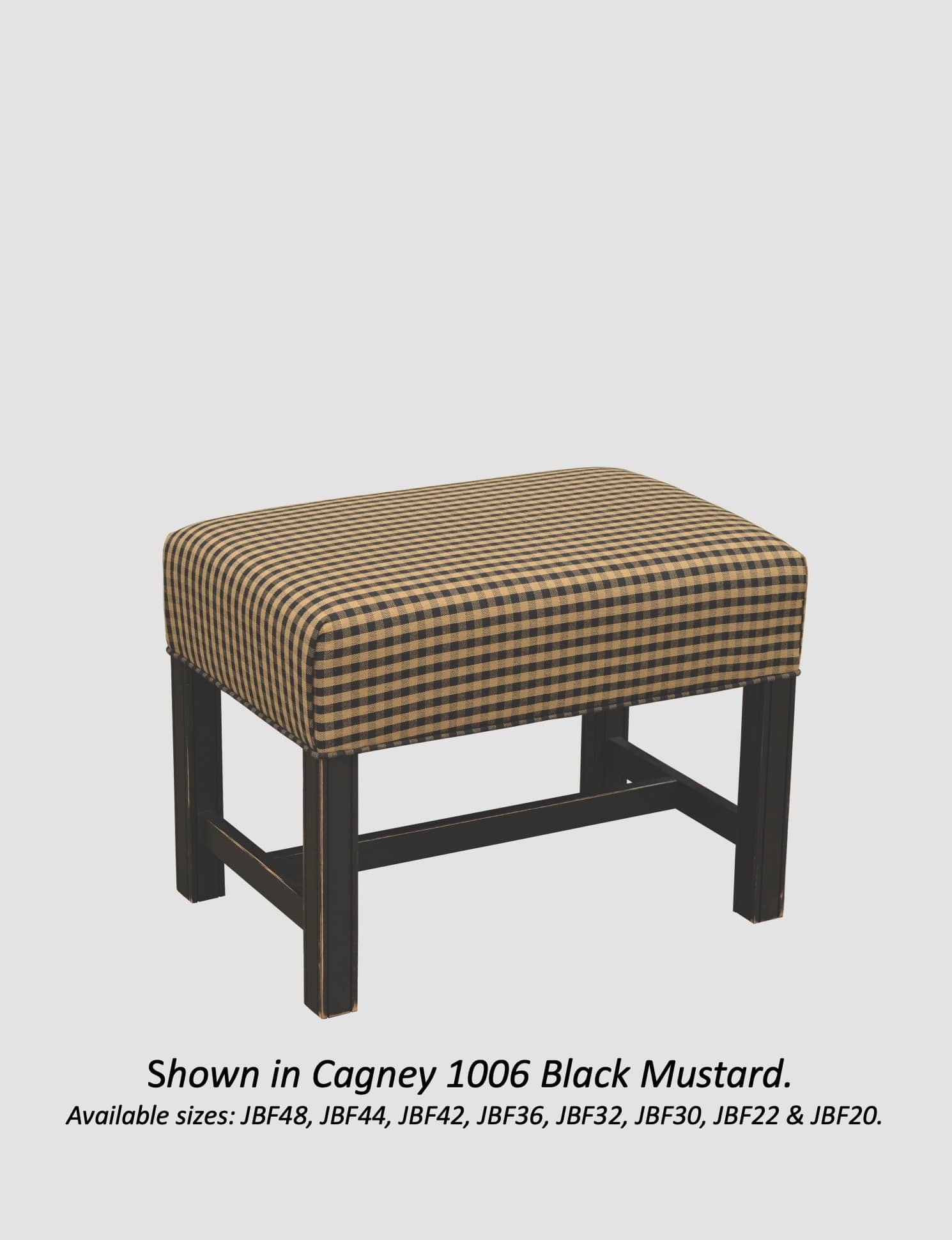 Town & Country Furnishings Footstool from American Country Collection