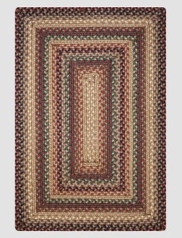 Homespice Decor Canterbury Ultra Wool Braided Rug