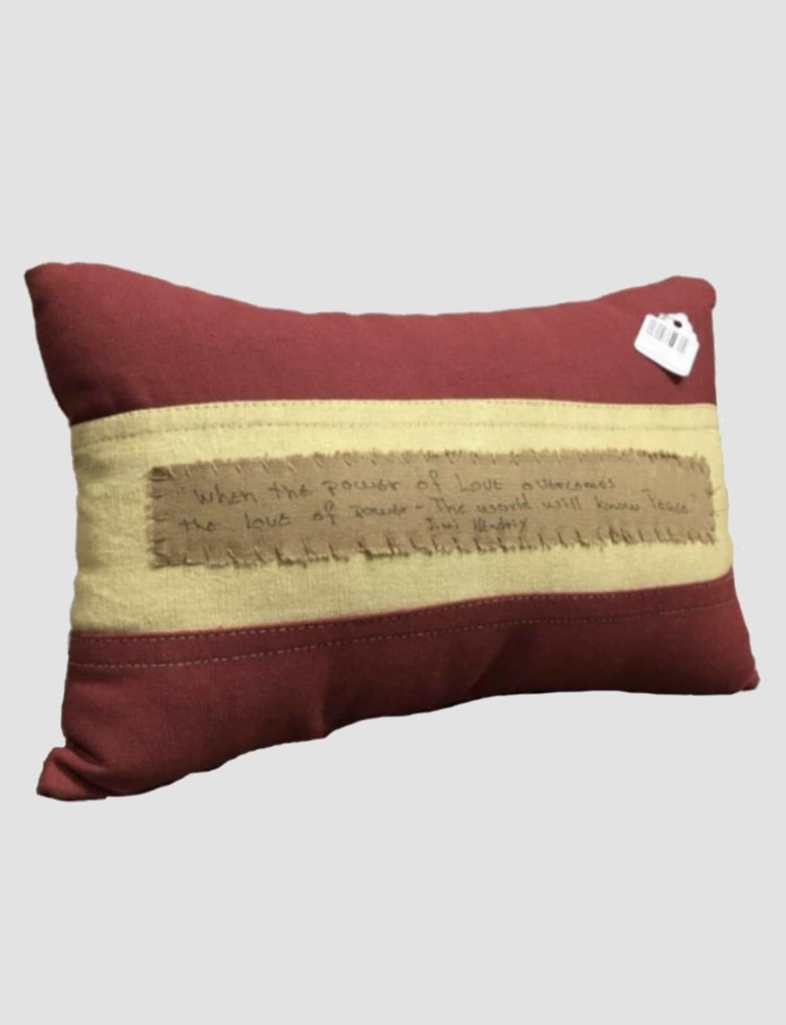 Nana's Farmhouse Flag Pillow